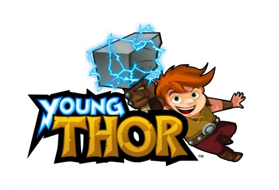 YoungThor 550x374 Thor vs Darth Vader : Les jeunes annes