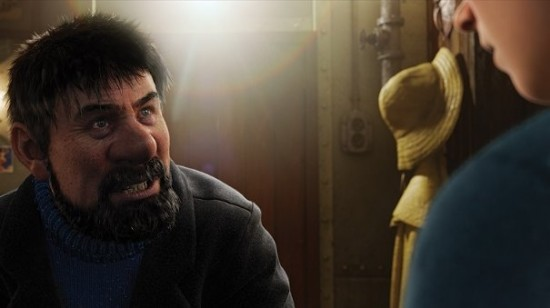 tintin 550x308 Spielberg et Peter Jackson font Tintin en 3D
