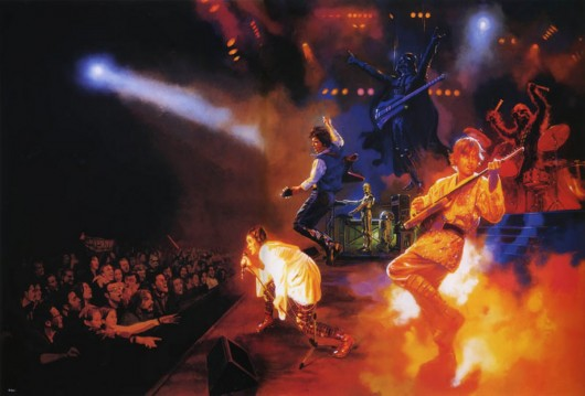 Star Wars Rock Concert star wars 530x359 Blaster Guns & Roses