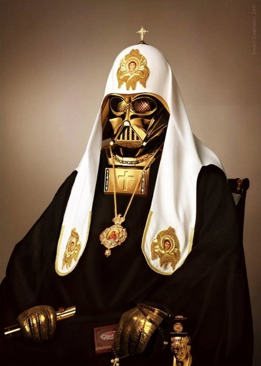 Pope Vader 530x743 Pope Vader et iPlanchapain